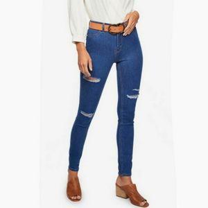 FREE PEOPLE Denim Distressed Blue Jeans size 27